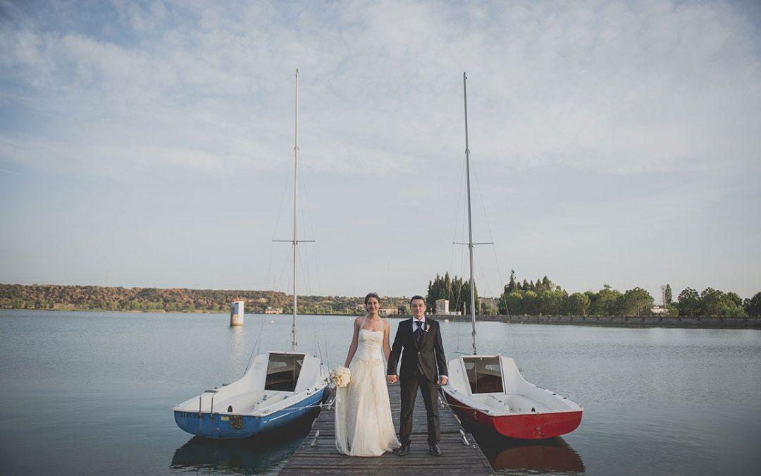 Sara y Ángel, La Casona del Lago