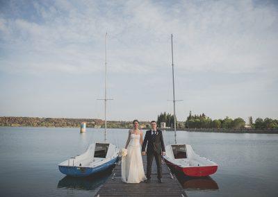 Sara y Ángel, La Casona de Lago