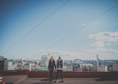 Laura y Alexis, de Madrid al Cielo
