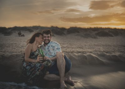 Mario & Almudena Preboda en la playa de Valencia
