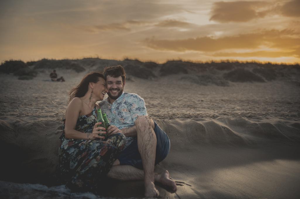 Preboda en la playa de Valencia - Marío & Almudena